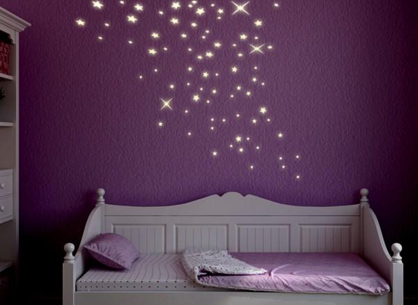 Wandtattoo 145 Sterne nachtleuchtend W815