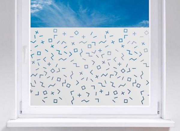 Sichtschutzfolie Mosaikmuster W5270