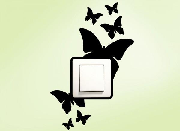 Schaltertattoo Schmetterlinge G115