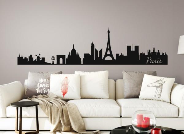 Wandtattoo Skyline Paris G152