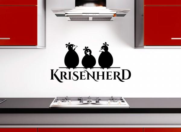 Wandtattoo Krisenherd + Vögel W1205