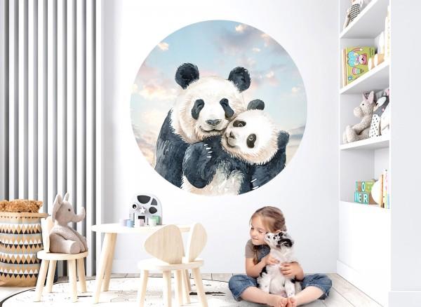 Little Deco Wandtattoo Pandabären DL645