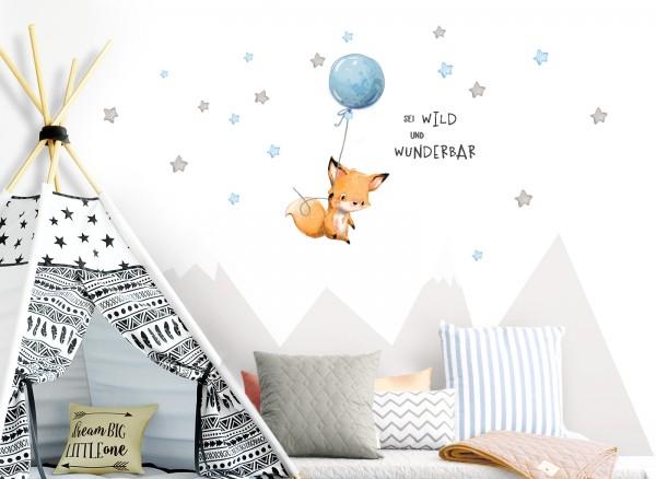 Little Deco Wandtattoo Sei Wild Fuchs Mit Luftballon Dl316 Jungs Kinderzimmer Wandtattoos Nach Zimmer Wandtattoos Grandora De