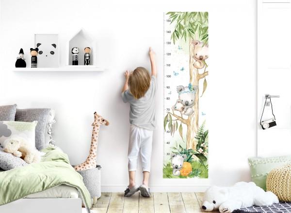 Little Deco Wandtattoo Messlatte 150cm Koala DL548