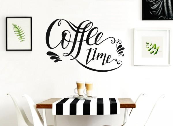 Wandtattoo Coffee time W5546