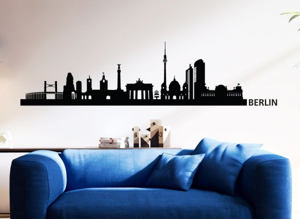 Wandtattoo Skyline Berlin G146