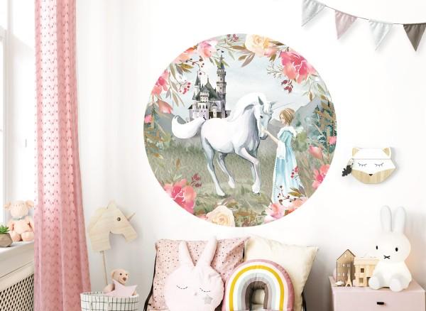 Little Deco Wandtattoo Prinzessin & Pferd DL588