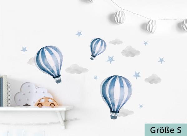 Little Deco Wandtattoo Heißluftballon DL537