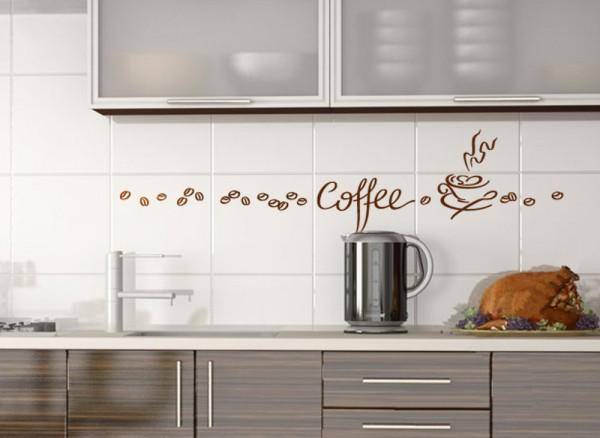 Wandtattoo Kaffee Tasse 1045W