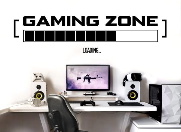 Little Deco Gaming Zone mit Ladebalken W5598