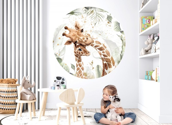 Little Deco Wandtattoo Säugetiere Giraffen DL636