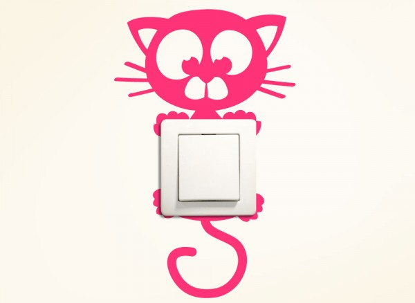 Schaltertattoo Katze G111