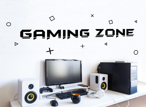 Little Deco Gaming Zone For The Players W5599