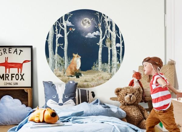 Little Deco Wandtattoo Wald bei Nacht DL589