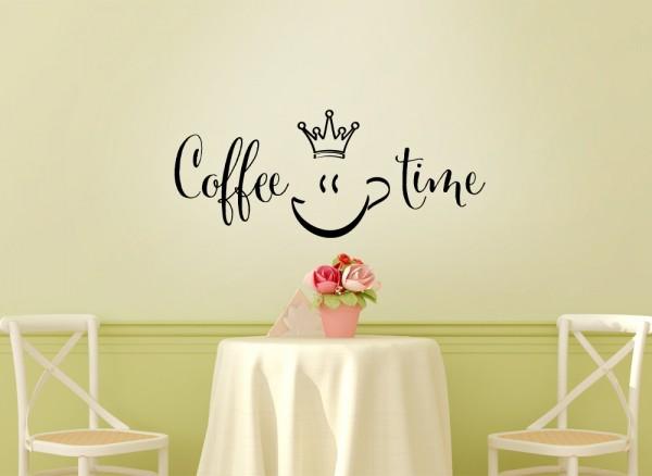 Wandtattoo Coffee Time W923