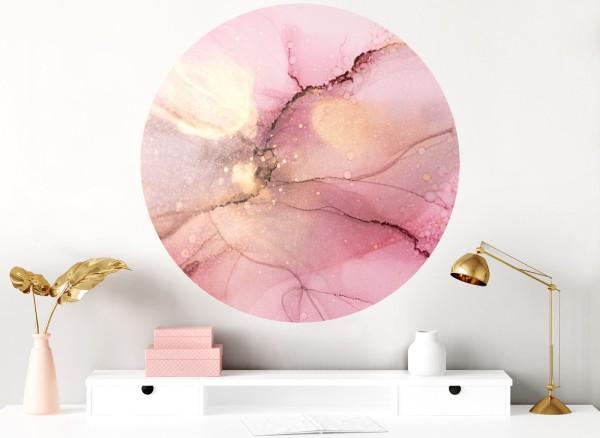 Grandora Marmor Muster rosa & gold DL705