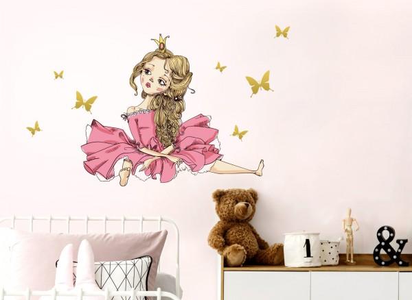 Little Deco Wandtattoo Prinzessin Dl156 Madchen Kinderzimmer Wandtattoos Nach Zimmer Wandtattoos Grandora De