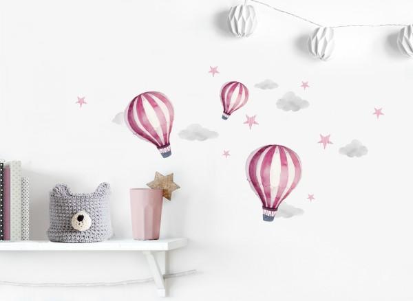 Little Deco Wandtattoo Sammelauktion Heißluftballons DL540