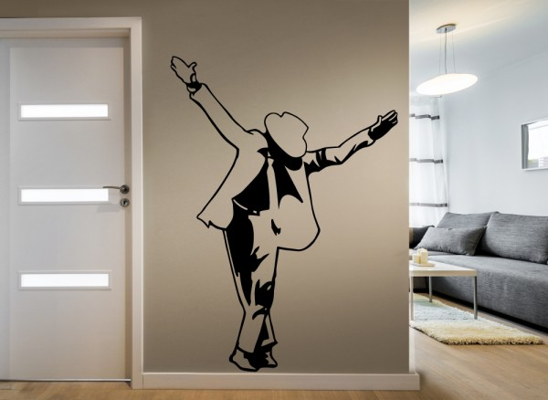 Wandtattoo Michael Jackson tanzend W614