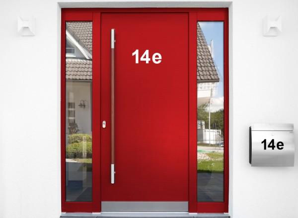 Aufkleber Hausnummer W5384