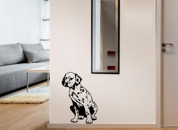 Wandtattoo Hund Dalmatiner G096