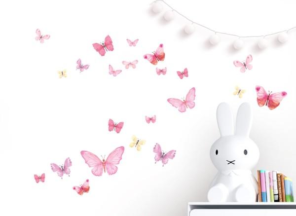 Little Deco Wandtattoo Schmetterlinge DL605