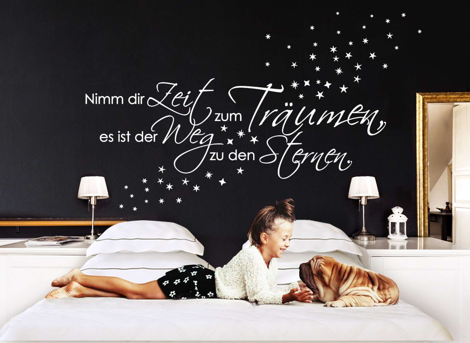2 Nimm dir die Zeit Wandtattoo Spruch Nr Zitat Wohnzimmer ...