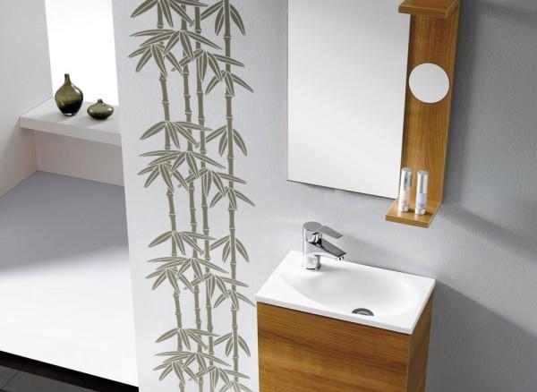 Wandtattoo Bambus Fliesenaufkleber W430