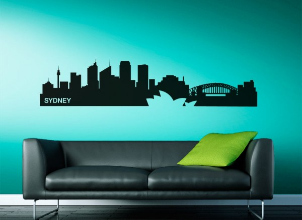 Wandtattoo Skyline Sydney G155