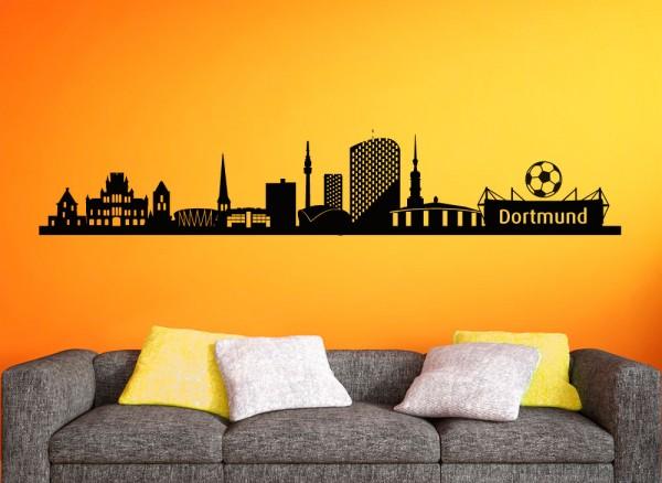 Wandtattoo Skyline Dortmund G148