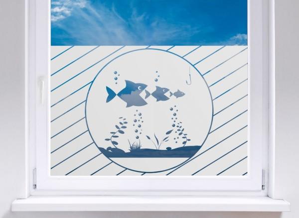 Sichtschutzfolie Fische unter Wasser W5266