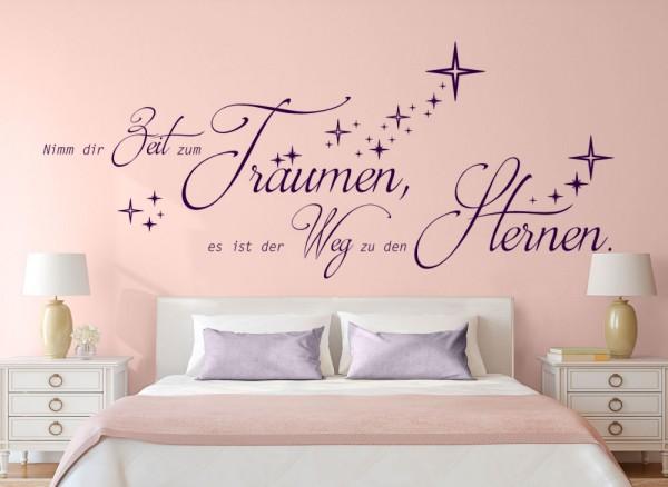 Wandtattoo Nimm dir Zeit zum Träumen... W5170 | Sprüche & Zitate ...