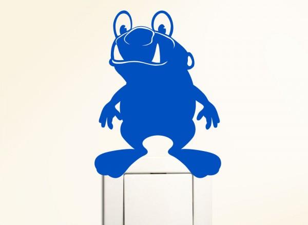 Schaltertattoo Frosch Monster G114