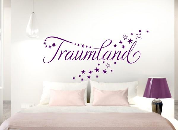 Wandtattoo Traumland mit Sternen W5040