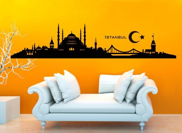Wandtattoo Skyline Istanbul G158