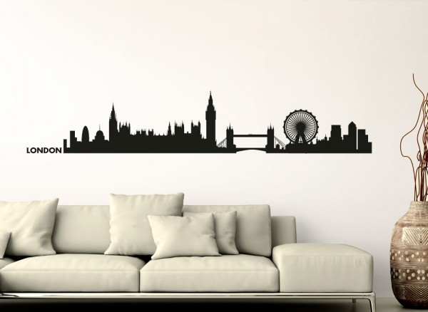 Wandtattoo Skyline London G154